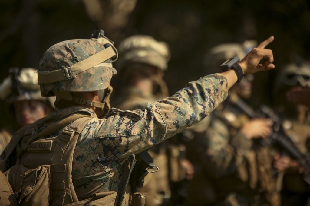 military law marines