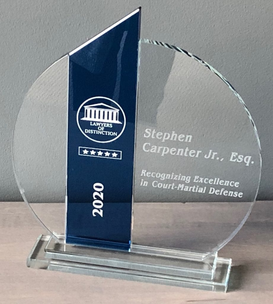 , Court & Carpenter Named to the 2020 Lawyers of Distinction